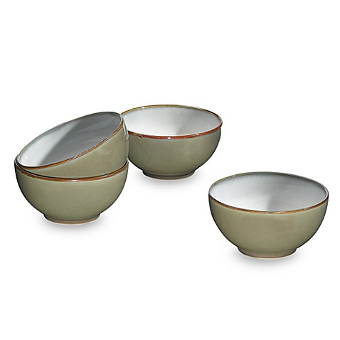 Sango® Concepts 6-Inch Ice Cream Bowls in Avocado (Set of 4)