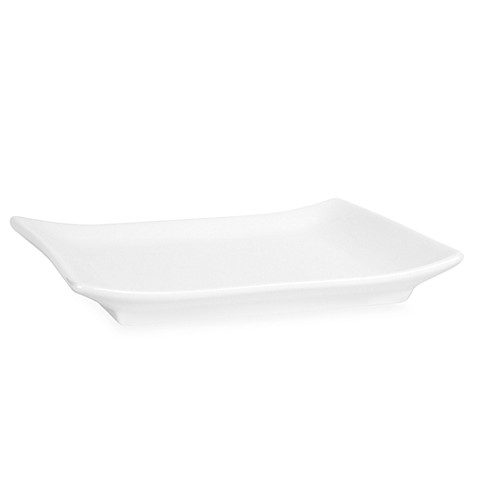 Everyday White® Rectangular Salad Plate