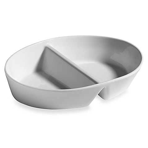 Fitz and Floyd® Everyday White® Divided Serving Dish