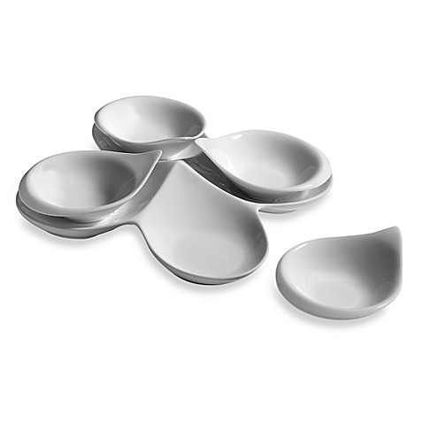 Fitz and Floyd® Everyday White® Porcelain 5-Piece Appetizer Set