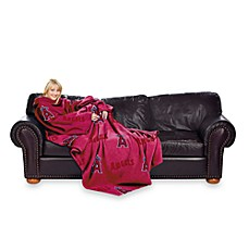 MLB Los Angeles Angels of Anaheim Comfy Throw™ Blanket with Sleeves