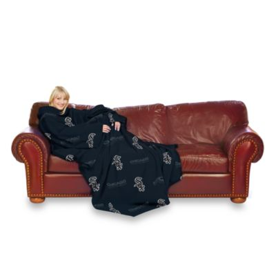 MLB Chicago White Sox Comfy Throw™ Blanket with Sleeves