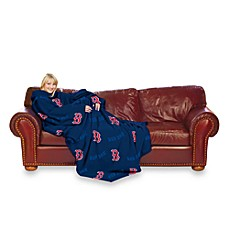 MLB Boston Red Sox Comfy Throw™ Blanket with Sleeves