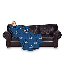 MLB Los Angeles Dodgers Comfy Throw™ Blanket with Sleeves