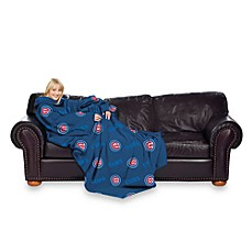 MLB Chicago Cubs Comfy Throw™ Blanket with Sleeves