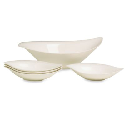 Villeroy & Boch New Cottage 5-Piece Pasta/Salad Set