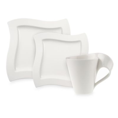 Villeroy & Boch New Wave 12-Piece Dinnerware Set