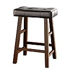 Padded 24-Inch Saddle Stool