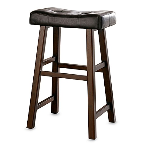 Padded 29-Inch Saddle Stool