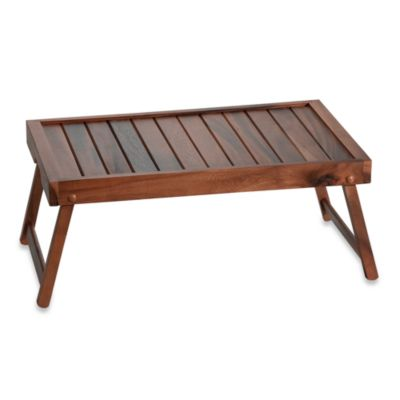B. Smith Acacia Bed Tray