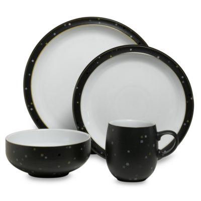Denby Jet Skyline 4-Piece Place Setting