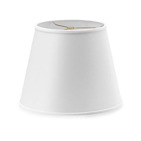 Mix & Match Large 15-Inch Modified Barrel Lamp Shade in White