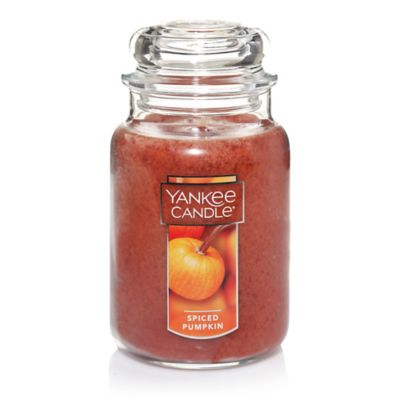 Yankee Candle® Housewarmer® Spiced Pumpkin Large Classic Candle Jar