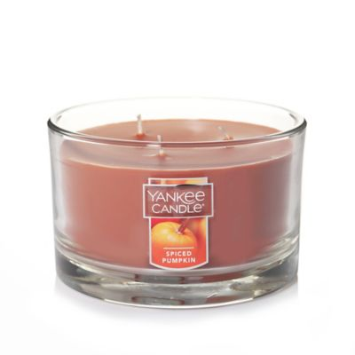 Yankee Candle® Housewarmer® Spiced Pumpkin 3-Wick Candle Jar