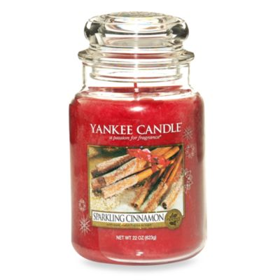 Yankee Candle® Housewarmer® Sparkling Cinnamon Large Classic Candle Jar