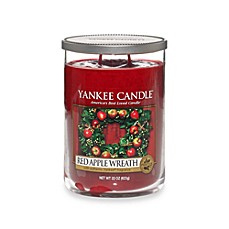 Yankee Candle® Housewarmer® Red Apple Wreath™ Large Lidded Candle Tumbler