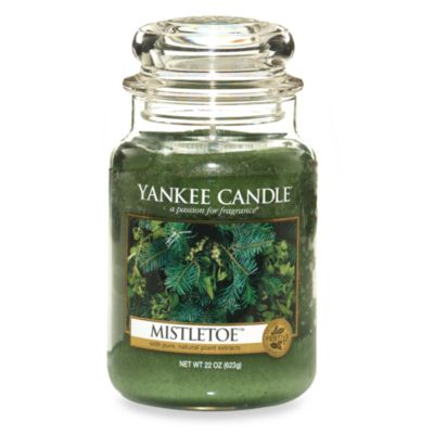Yankee Candle® Housewarmer® Mistletoe™ Large Classic Candle Jar