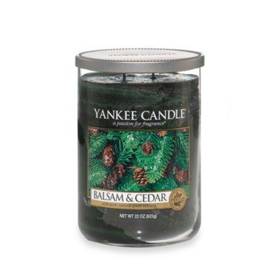 Yankee Candle® Housewarmer® Balsam and Cedar™ Large Lidded Candle Tumbler