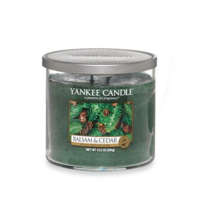 Yankee Candle® Housewarmer® Balsam and Cedar™ Medium Lidded Candle Tumbler