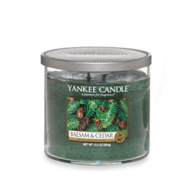 Yankee Candle® Housewarmer® Balsam and Cedar™ Medium Lidded Candle Tumbler
