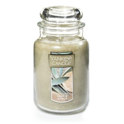 Yankee Candle® Sage & Citrus Large Classic Jar Candle
