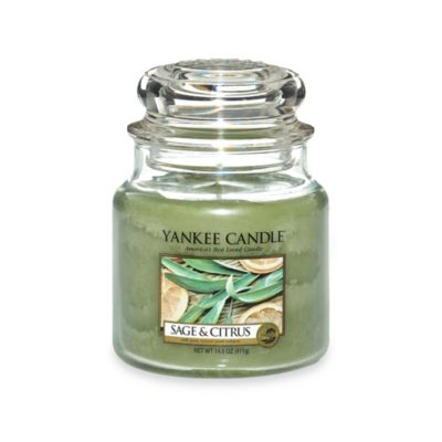 Yankee Candle® Sage & Citrus Medium Classic Jar Candle
