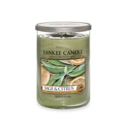 Yankee Candle® Housewarmer® Sage & Citrus Large Lidded Candle Tumbler
