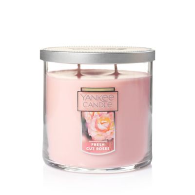 Yankee Candle® Fresh Cut Roses Medium Lidded Candle Tumbler