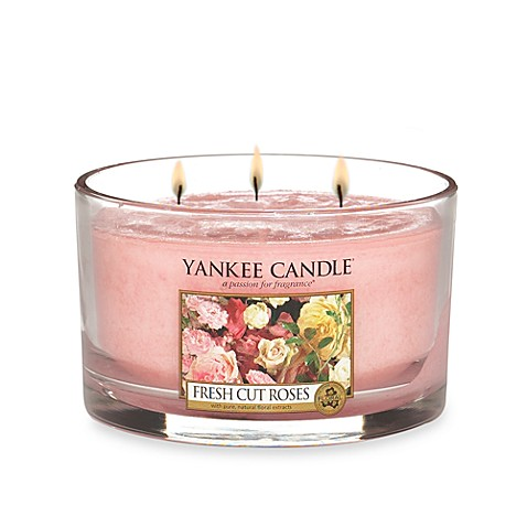 Yankee Candle® Housewarmers® Fresh Cut Roses 3-Wick Candle
