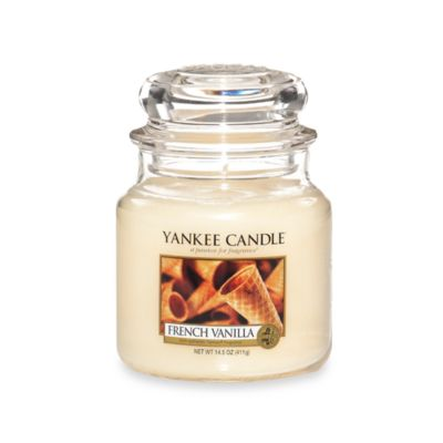 Yankee Candle® Housewarmer® French Vanilla Medium Classic Candle Jar