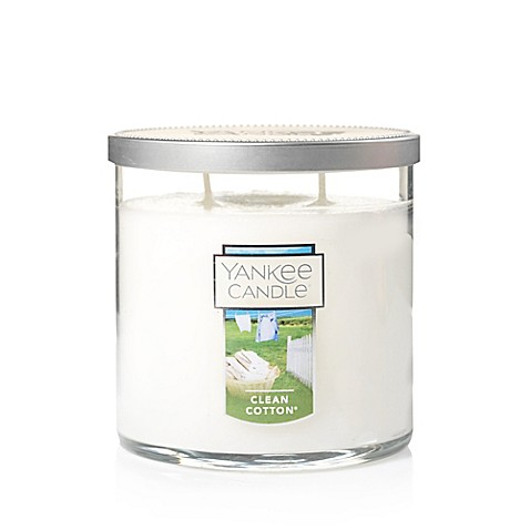 Yankee Candle® Housewarmer® Clean Cotton® Medium Lidded Candle Tumbler
