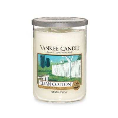 Yankee Candle® Housewarmer® Clean Cotton® Large Lidded Candle Tumbler