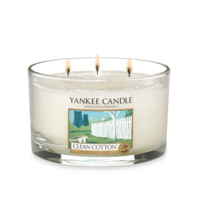 Yankee Candle® Housewarmer® Clean Cotton® 3-Wick Candle