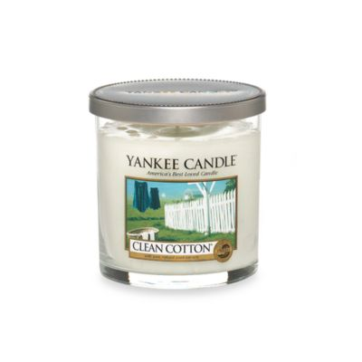Yankee Candle® Housewarmer® Clean Cotton® Small Lidded Candle Tumbler