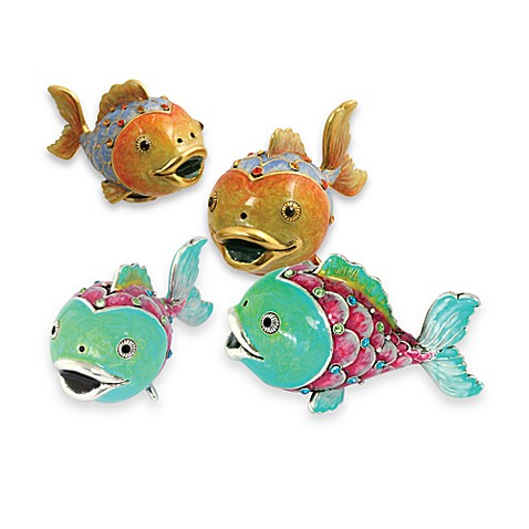 Quest Collection Fish Salt and Pepper Set
