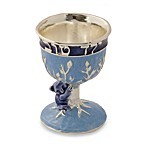 Kiddush Cup in Blue