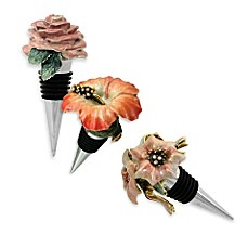 Floral Wine Stoppers