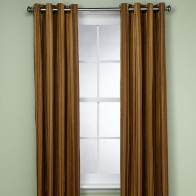 Boca Striped Thermosave™ 84-Inch Window Panel in Spa Stripe