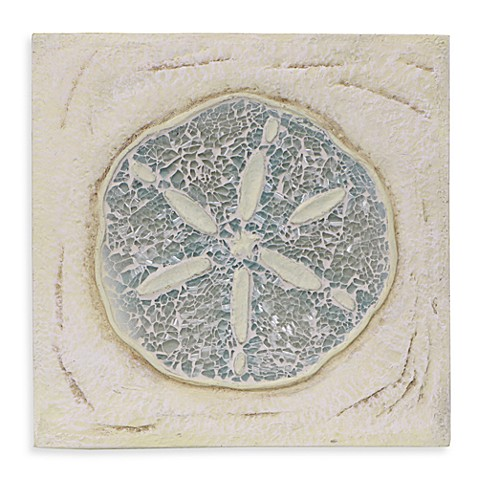 Sand Dollar Resin Wall Plaque
