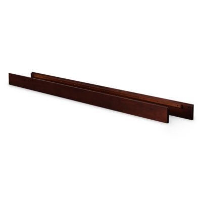 Nursery Smart® Full Size Conversion Rails in Mocha