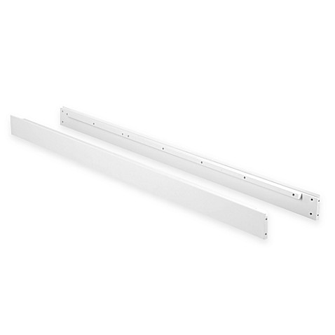 Nursery Smart® Full Size Conversion Rails in White