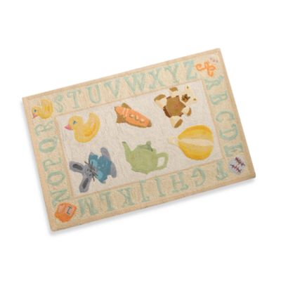 Momeni Lil Mo 2-Foot x 3-Foot Storytime Accent Rug in Yellow