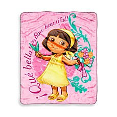 Children's Character Blanket - Dora the Explorer