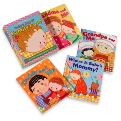 Box of Family Fun Book Gift Set by Karen Katz