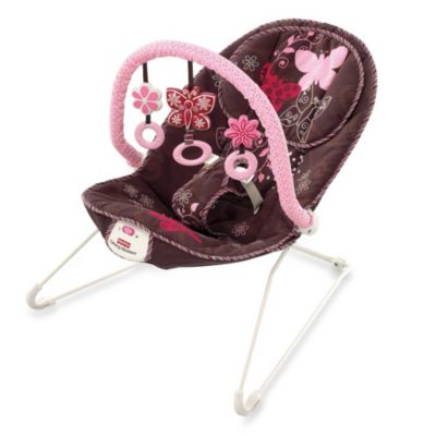 Fisher-Price® Mocha Butterfly Bouncer - from Fisher Price