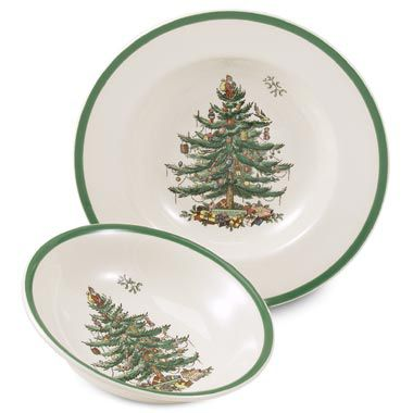 Spode® Christmas Tree Cereal Bowl
