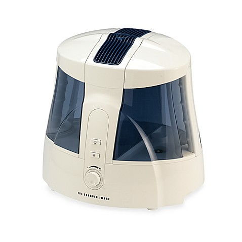 The Sharper Image® Ultrasonic Cool Mist™ Humidifier with Clean Mist Technology