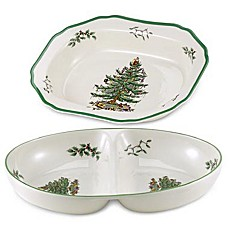 Spode® Christmas Tree Open Vegetable Dish