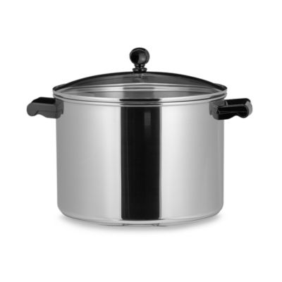 Farberware® Classic Series II Stainless Steel 8-Quart Covered Stock Pot