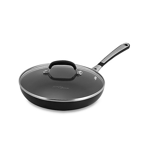 Simply Calphalon® Black Enamel Nonstick 10-Inch Covered Omelette Pan